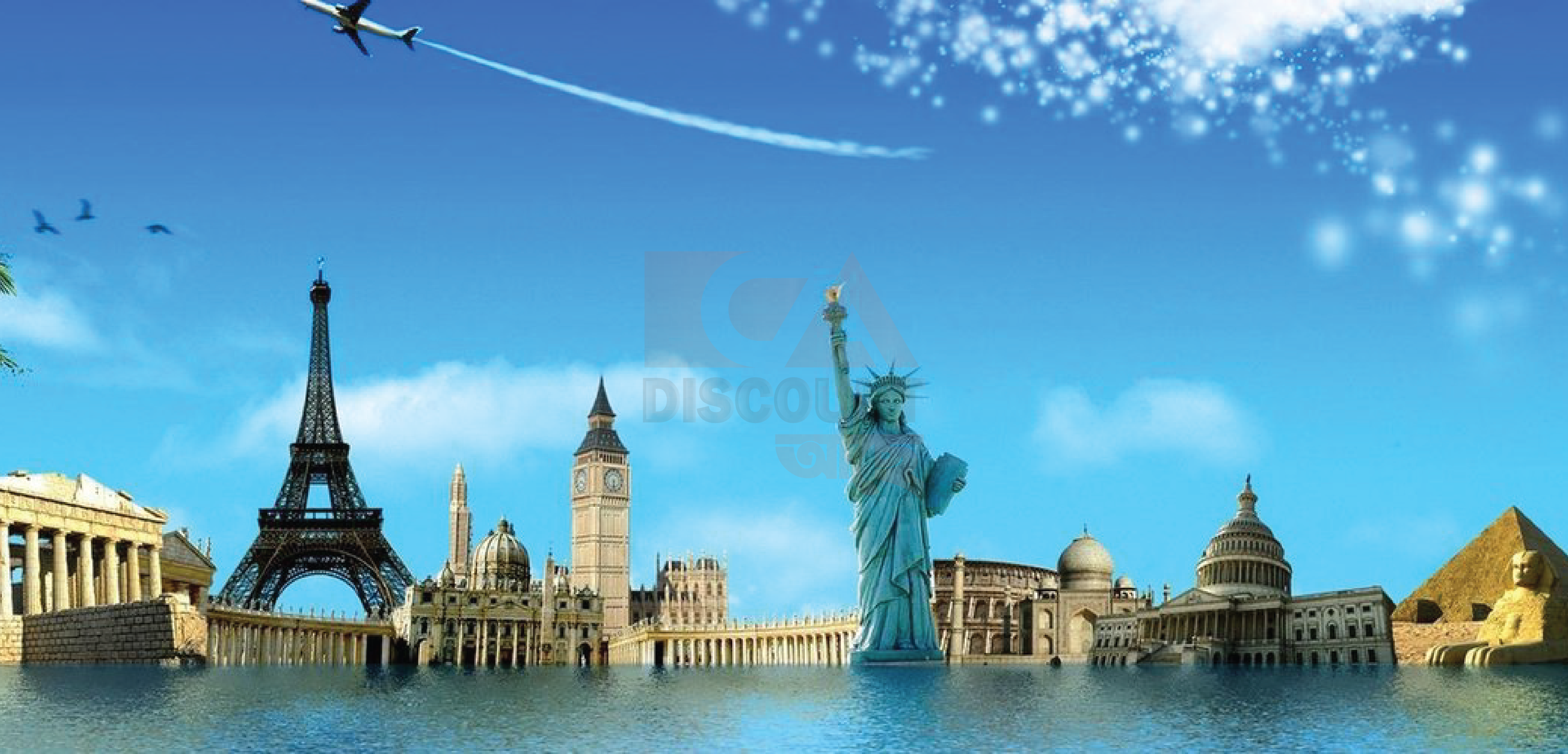 Up to 8% discount on travel & tour